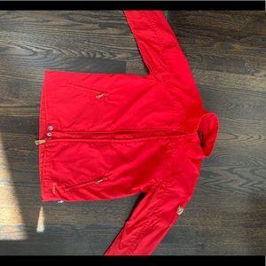 Fjallraven kids outdoor jacket, size 8 kids